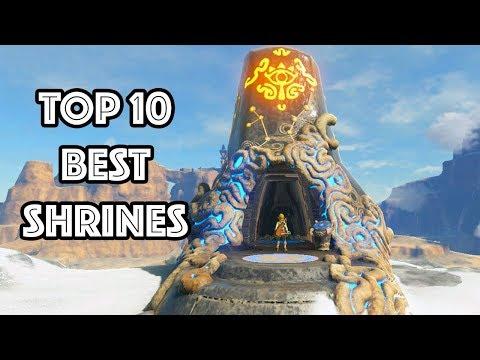 Top 10 Best Shrines In Zelda: Breath Of The Wild