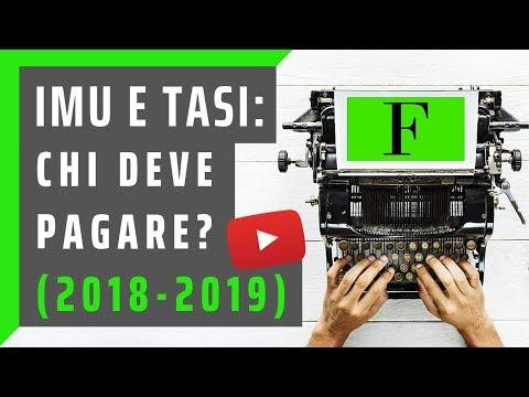 IMU e TASI: chi deve pagare? (Guida 2018 e 2019)
