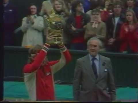 Finale wimbledon Borg vs Conners 1978