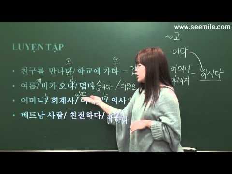 1. Hàn Quốc em gái thông minh xinh đẹp 여동생은 예쁘고 똑똑해요. (TIẾNG HÀN SƠ CẤP)