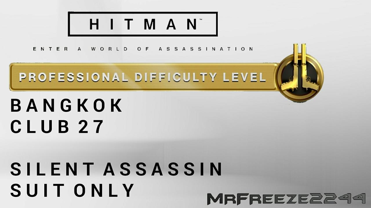 Hitman Bangkok Silent Assassin Suit Only Professional