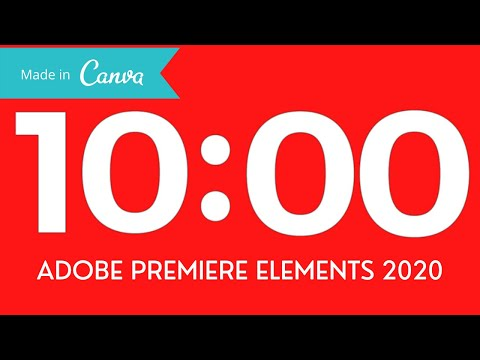 Download Make a Countdown Timer in Premiere Elements and Canva (FREE)