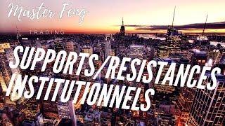 FORMATION TRADING GRATUITE [CONFIRMÉ LEÇON 3] LES SUPPORTS ET RÉSISTANCES INSTITUTIONNELS