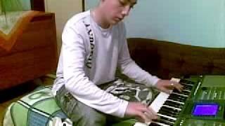 Ml. Bango Drahos - pianist, domace video