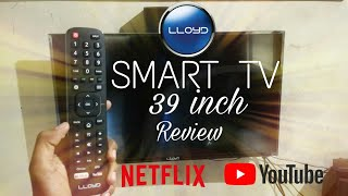 Lloyd 39inch Smart TV Review with Youtube and Netflix
