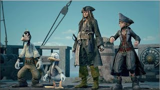 PS4 Games | Kingdom Hearts III - E3 2018 Pirates of the Caribbean Trailer