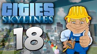 Cities Skylines español - gameplay 1080 | #18 PRIMERA LÍNEA DE METRO [KraoESP]