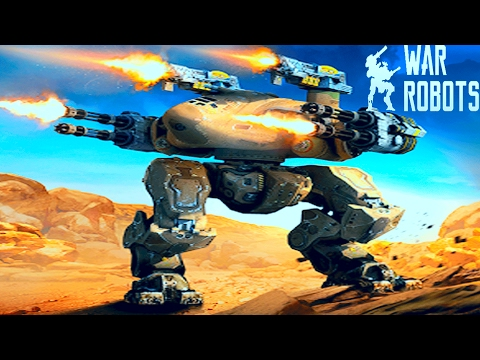 Боевые Роботы War Robots.БИТВЫ роботов.Мультик игра Веселое видео для детей.Много роботов и оружия