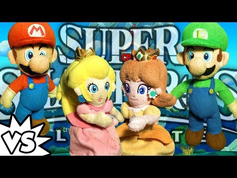 ABM: Mario & Daisy Vs Luigi & Peach !! SUPER SMASH BROS ULTIMATE !! ᴴᴰ