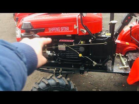 Трактор 35 сил за 80 тысяч на ремешке - дешевка, хорош или нет?! Анонс минитрактора Шифенг 350