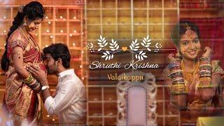 Shruthi Krishna Valaikappu Highlights | Studio Art