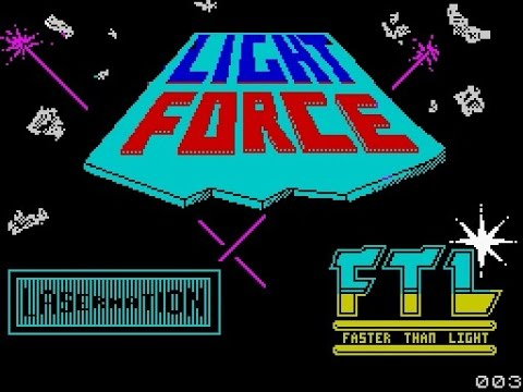 ZX Spectrum Longplay [035] Lightforce