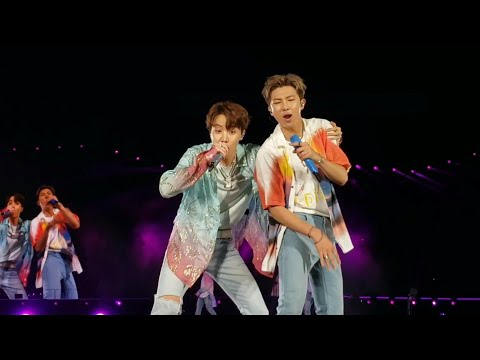 190504 Dope Baepsae Fire Medley @ BTS 방탄소년단 Speak Yourself Tour Rose Bowl Los Angeles Concert Fancam