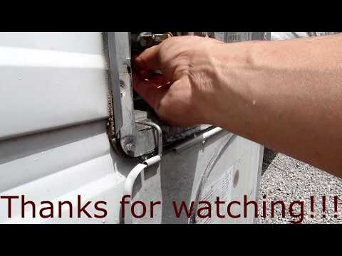 Stinky RV Water Heater And Tour