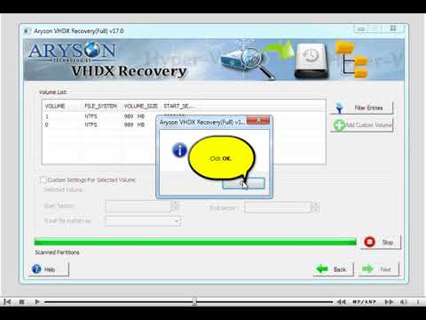Hyper-V Data Recovery to Restore Corrupt VHDX File on Windows