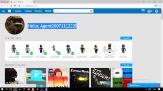 How to break into someone's account on ROBLOX in NERADA MORE 2016