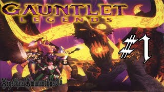 Gauntlet Legends - PS1 Playthrough - Area 1, Mountain Region - Part 1 - [With Commentary]