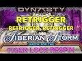 SIBERIAN STORM - Huge Retrigger Win - IGT Slot Machine - Dynasty Edition Tiger Lock Respin