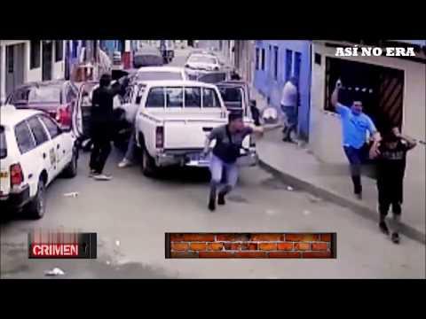 POLICÍAS INTERVIENEN A SICARIOS DEL CALLAO Y MATAN A UNO