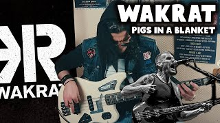 Wakrat - Pigs in a Blanket (Bass Cover | Tribute & Fun #7)