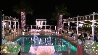 WEDDING VIDEO CLIP AT SANTORINI