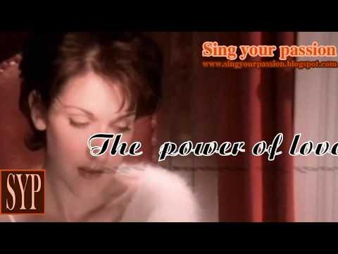 Karaoke- Celine Dion - The power of love