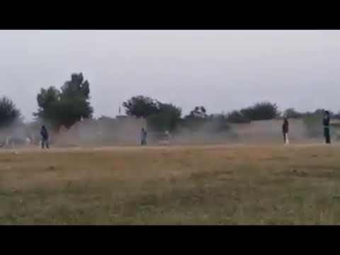 Hafiz Shani bowling to sanam and save 6 runs 4 balls