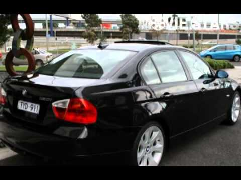 2005 bmw 320i e90 executive steptronic black 6 speed automatic sedan youtube. Black Bedroom Furniture Sets. Home Design Ideas