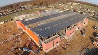 AMAZEUM Construction Site Flyover