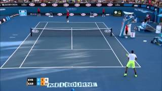 Karlovic AMAZING volley against Kyrgios