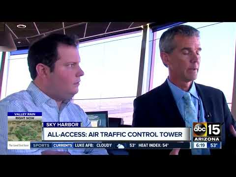 Inside look at Sky Harbor Airport's air traffic control towe