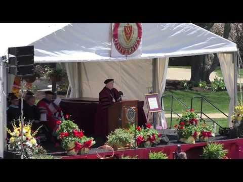 Walsh University Spring 2018 Commencement