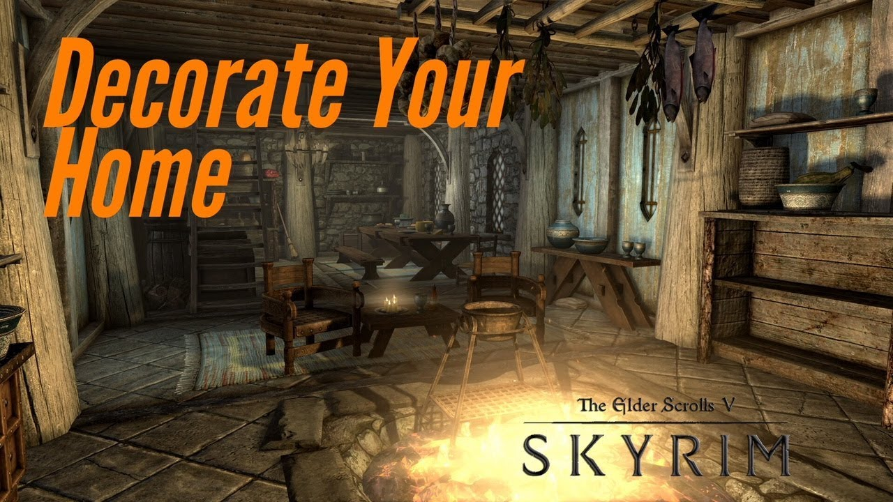 Skyrim PS4 Mods: ANA's Interior Editor by anacondasqueese