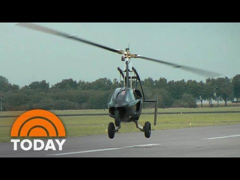 From 'Jetsons' To Reality: Flying Car Prototype Doubles As A Sports Car | TODAY