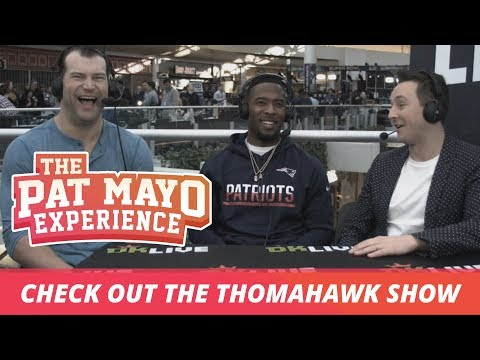 Joe Thomas and Andrew Hawkins discuss their new podcast