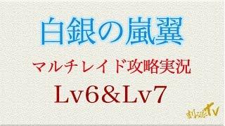 【刻み家TV】第31回 白銀の嵐翼 マルチレイド攻略動画 Lv6&7