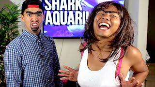 ROLANDA & RICHARD Visit the Shark Aquarium