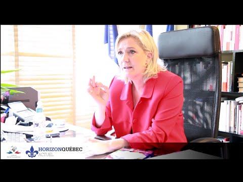 Marine Le Pen sur le danger de l'islam politique au Québec