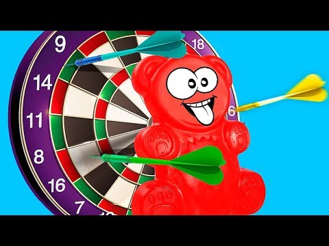 SHARP DARTS OR THE NEW ADVENTURES OF JELLY GUMMY BEAR