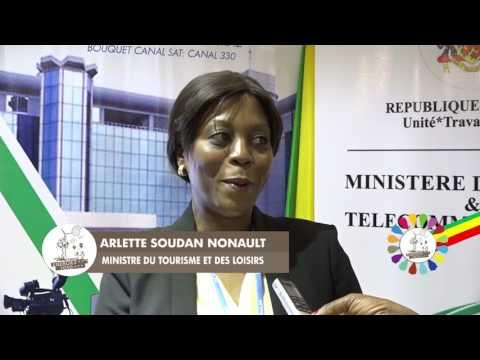 Page Magazine - COP22 : Visite des ministres Congolais au stand de TELE CONGO / ENERGIES 2050