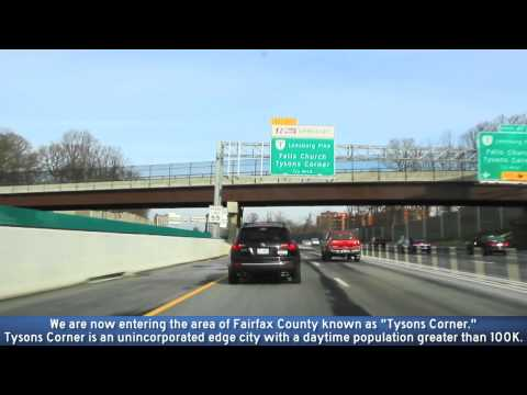 I-495 Express Lanes Northern Virginia