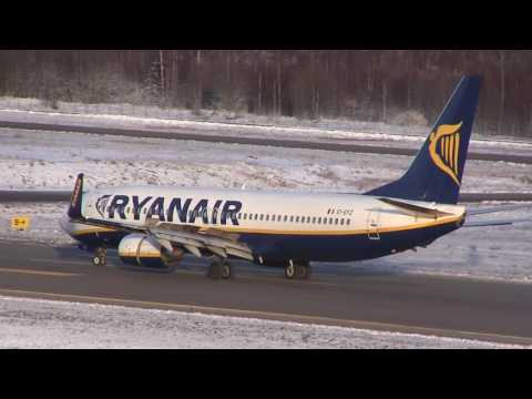 Winter Action @ TRF. Sandefjord Airport, Torp