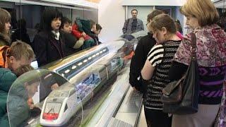 Поезд-музей РЖД приехал в Череповец