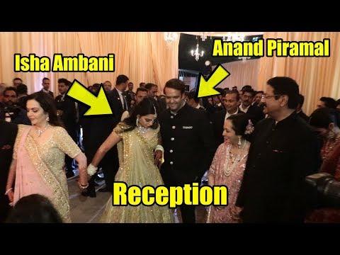Isha Ambani - Anand Piramal Wedding GRAND RECEPTION   Millionaire Ambani's Grand Party
