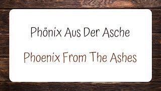 OOMPH! - Phönix Aus Der Asche (Lyrics + English Translation)