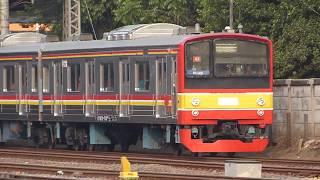 旧JR東日本205系武蔵野線M12編成12両 | KRL Eks-JR East Seri 205 Set M12