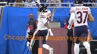 "Chicago Bears 2018 Regular Season Highlights ""Unstoppable"" NFL"