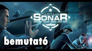 Captain Sonar - társasjáték bemutató