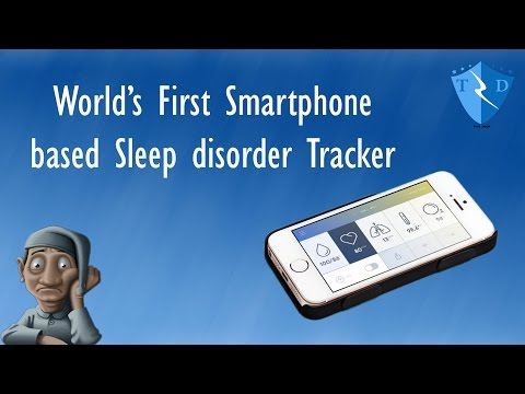 sleep apnea device - world's first smartphone based tracker