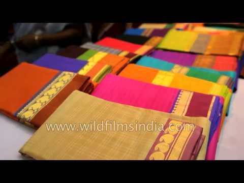 Silk Saree shop in Kanchipuram